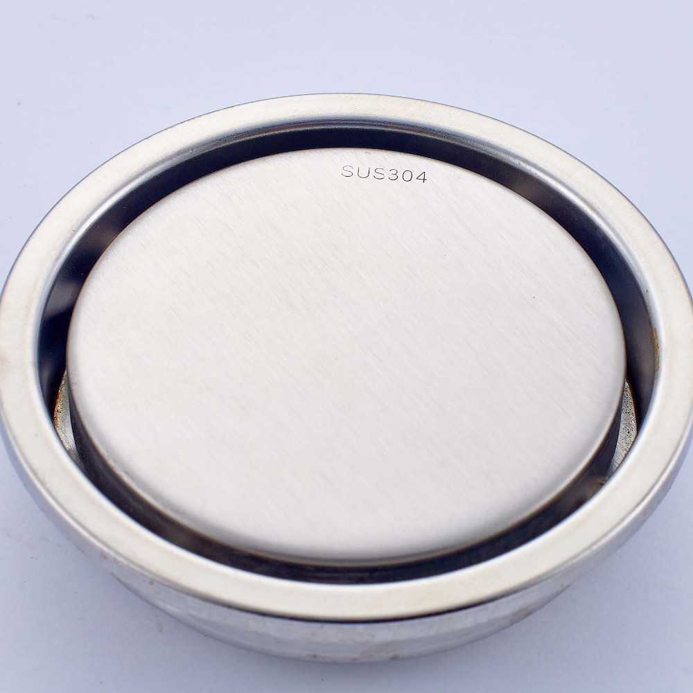 New Arrival Round 6 Inch Bathroom Floor Drain Stainless Steel Brushed Nickle Fashion Square Shower Strainer