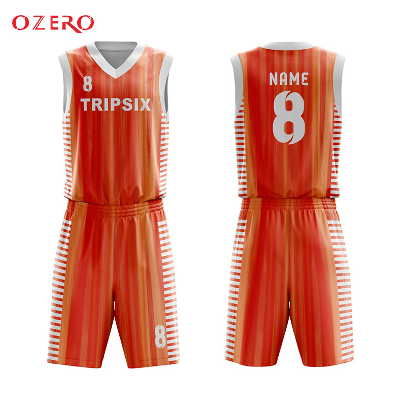 64662b6770a oem high quality sublimation basketball jersey uniform design-in Basketball  Jerseys from Sports   Entertainment on Aliexpress.com