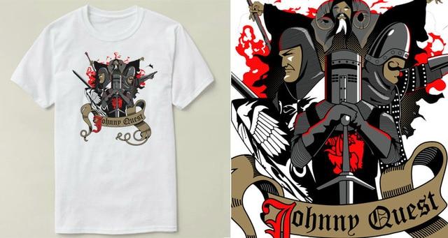 8b3a140f3 Johnny Quest Monty Python Holy Grail mens t-shirt tops tees fitness hip hop  men tshirts clothing super big size zl