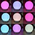 Mini Speaker Sem Fio Bluetooth LED RGB Lâmpada Mágica Lâmpada Inteligente Colorido Decoração Iluminação Noturna Luz de Alarme de Música de Áudio Alto-falantes