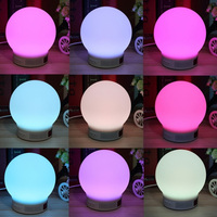 Mini Wireless Bluetooth Speaker RGB LED Lamp Magic Smart Bulb Colorful Light Alarm Music Audio Decor Night Lighting Speakers
