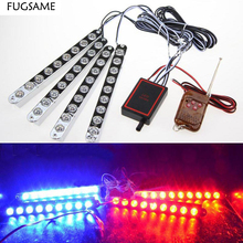 Car Styling 4 in1 9LED*4 Hawkeye Daytime Running Lights Auto Wireless Remote Strobe DRL External Light Net Hawkeye Lens LED DRL