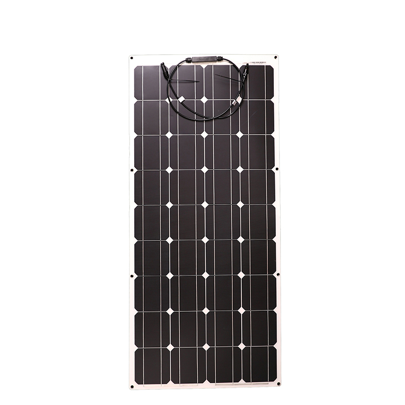 100W 18V Flexible Solar Panel Cell Charger 12V battery Mono Solar Panels China Small outdoor painel solar Portable Solar Panels
