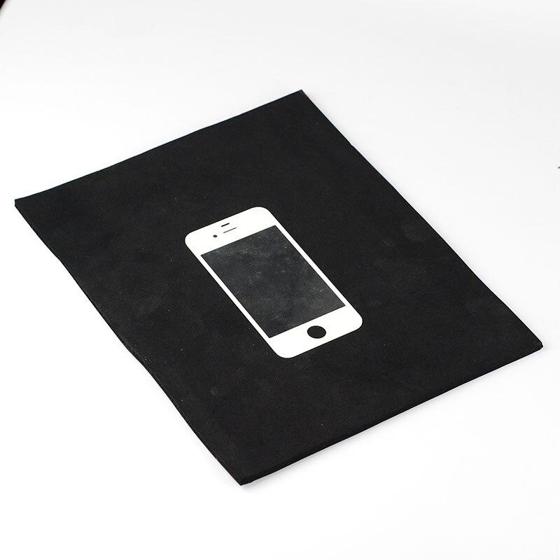 Black Super soft Foam rubber pad Pressure screen pad Mobile LCD screen repair Vacuum laminating machine pad 25*20*4.5mm grey foam polish pad by presta
