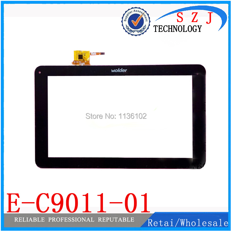 (Ref: QSD E-C9011-01 ) 9 inch touch panel touch screen digitizer for Wolder Mitab iron Tablet PC Free shipping 5Pcs/lot