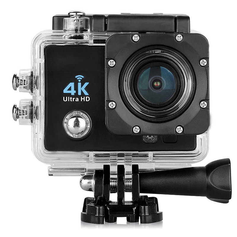 170 degree 4K Ultra HD Helmet Sports WiFi Camera CAM Waterproof Car Recorder