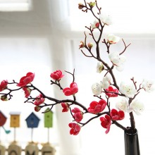 Artificial Peach Flowers for Party Decoration wedding Decor flores artificiales para decoracion hogar Home Decorating Flores