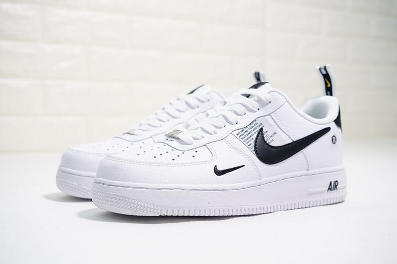 Original Authentic Nike Air Force 1 07 LV8 Utility Pack Men's Skateboarding Shoes Sneakers Athletic Designer Footwear AJ7747
