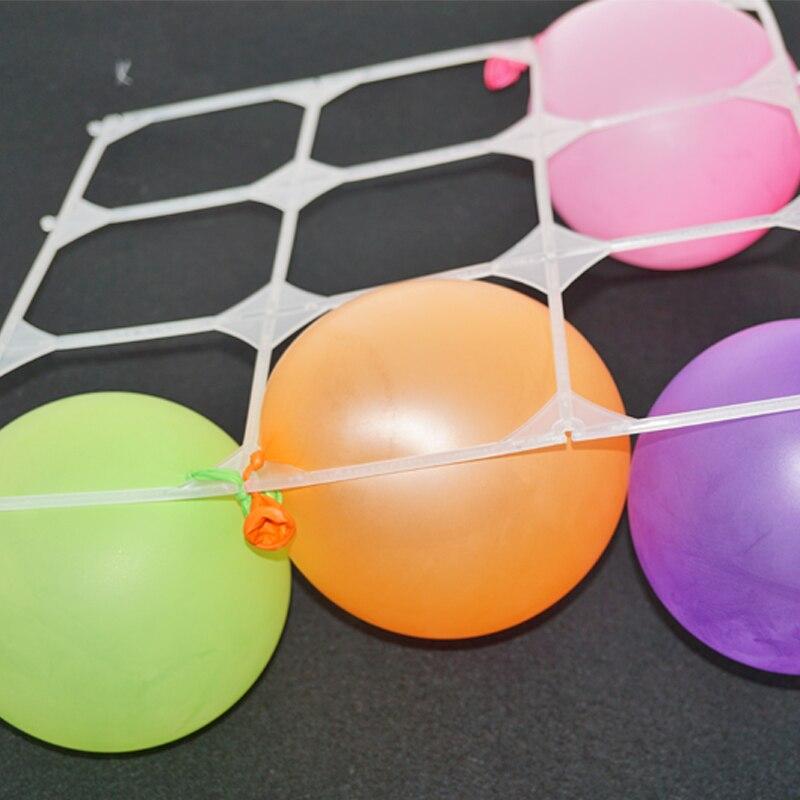 2018 Nieuwe Ballon Helium 50 stks / partij Latex Ballon Mesh Plastic - Feestversiering en feestartikelen - Foto 6