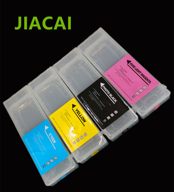 7900 Empty Refillable Ink Cartridge with ARC Chip For Epson Stylus PRO 7910/9910/7900/9900 Printer 700ML/PC