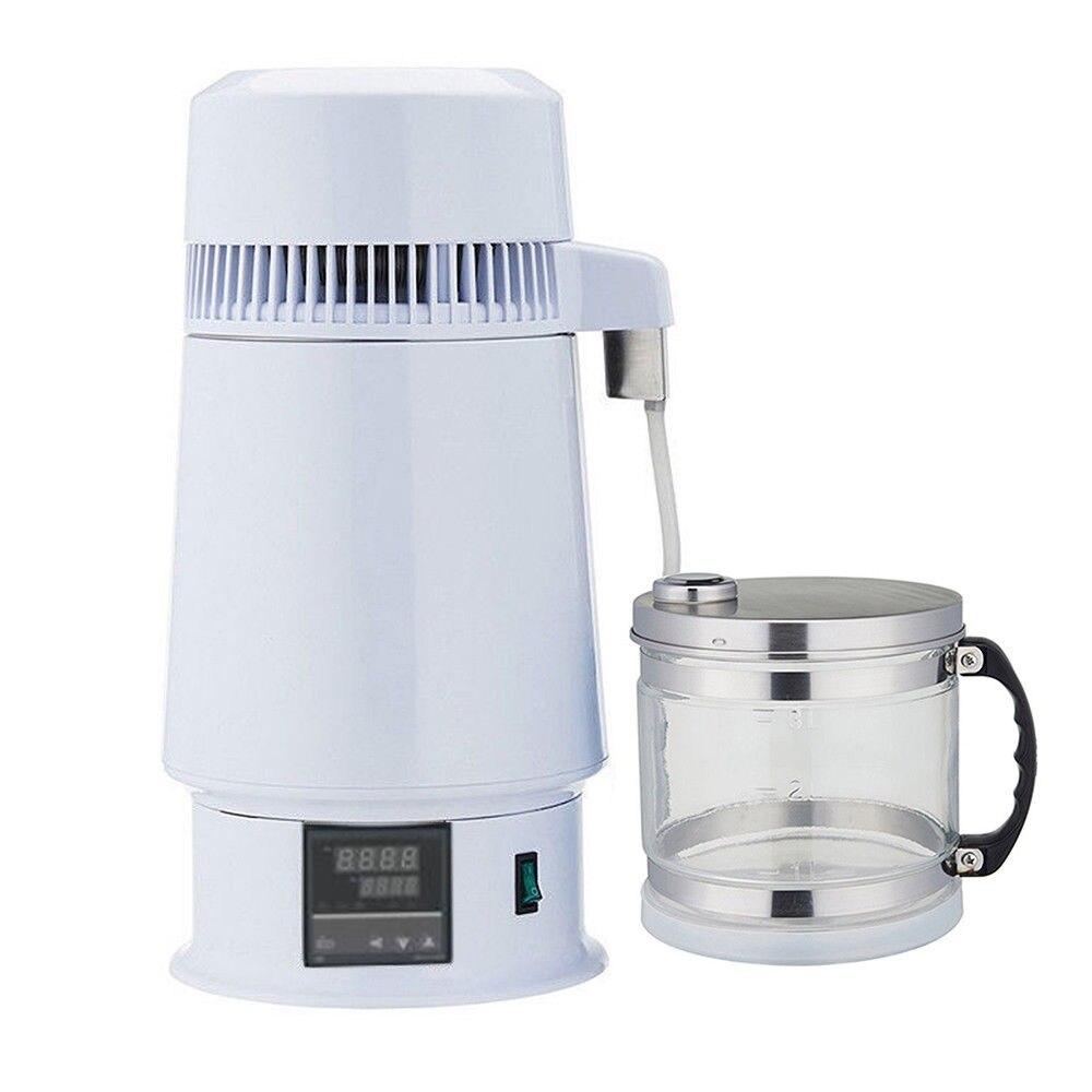 4 Litres New Moonshine Still Home Pure Water Alcohol Distiller Filter Purifier Equipment Boiler Brewing w/Glass Bottle