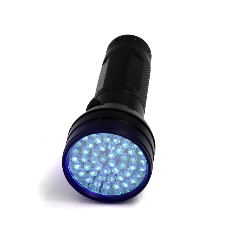 UV Ultra Violet 9 LED Black Torch Flashlight Garden Insect Detector