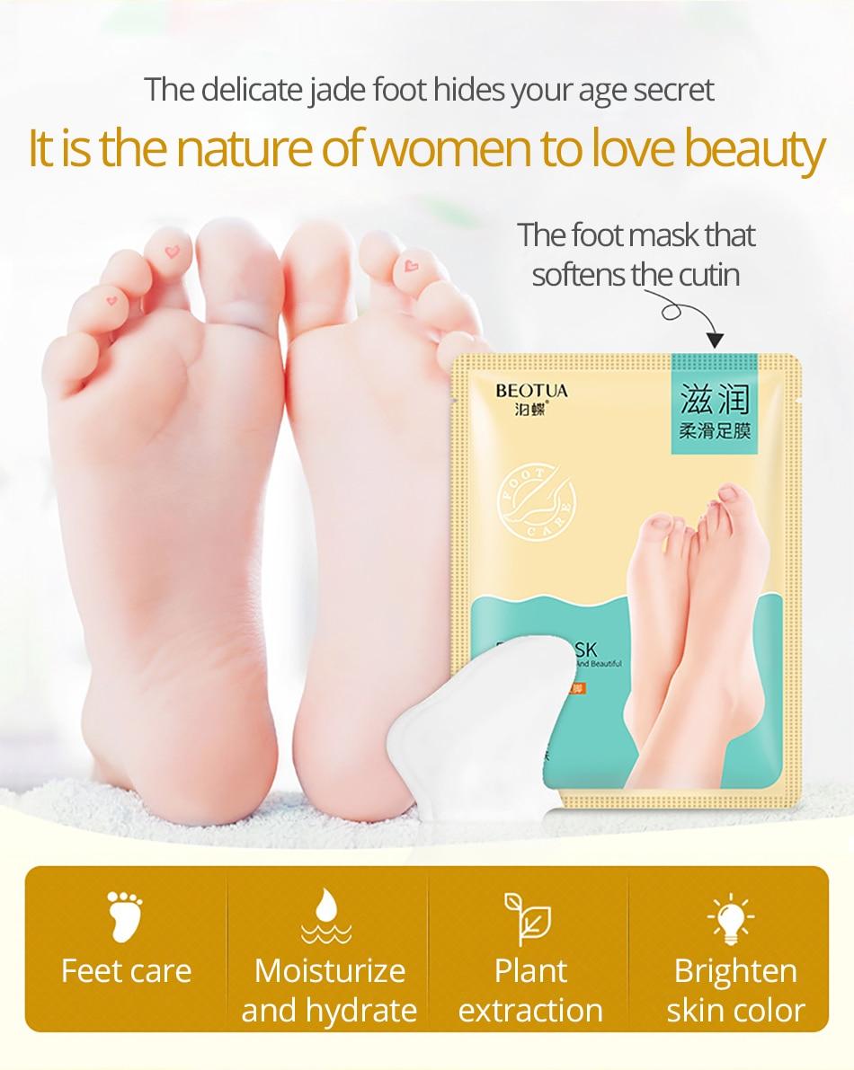 Hautpflege Sonnig 3 Packs = 6 Stücke Baby Fuß Peeling Erneuerung Fuß Maske Für Beine Entfernen Abgestorbene Haut Glatt Peeling Socken Fuß Pflege Socken Für Pediküre