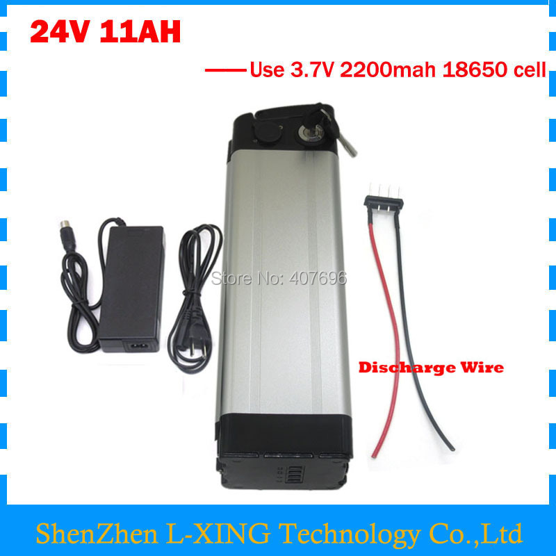 24V 11AH battery 24 v 11ah lithium ion Electric Bike battery 15A BMS with 29.4V 2A Charger Free customs fee free customs duty lithium battery super power electric bike battery 48v 20ah lithium ion battery charger 30a bms free shipping