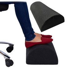 Ergonomic Feet Cushion Support Foot Rest Under Desk Feet Stool Foam Pillow For Home Computer Work Chair Travel(China)