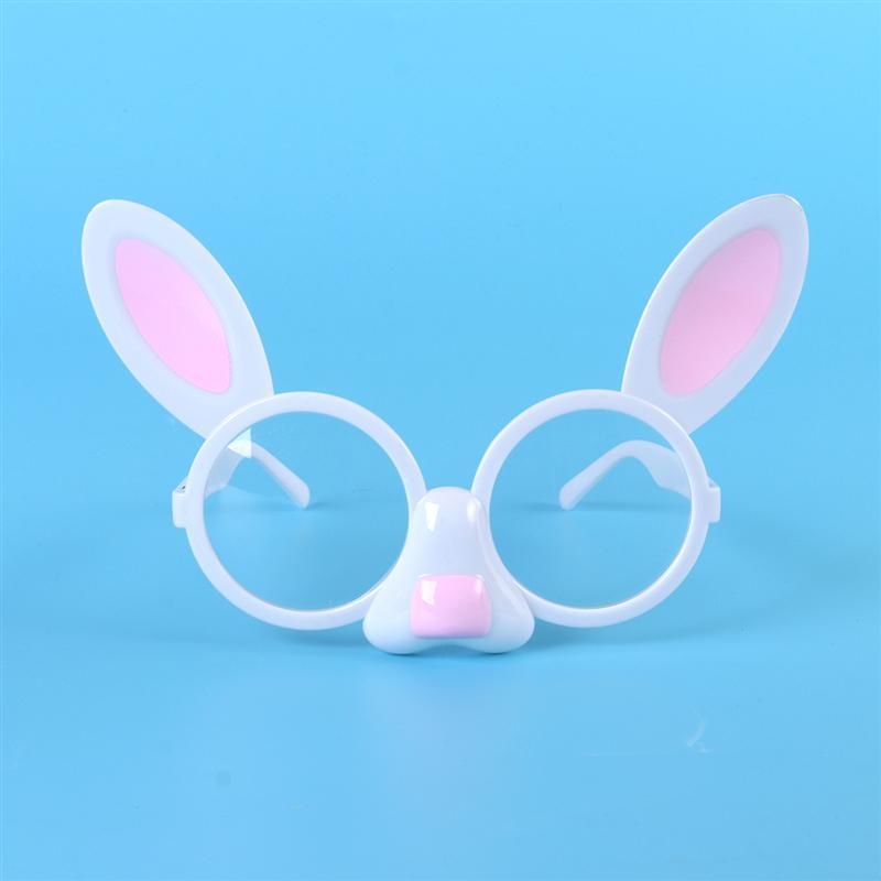 4fa227ba5 Traje Máscara de Coelho da páscoa Bonito Acessórios Novelte Armações De  Óculos Crianças Crianças Óculos De Sol Com Transparente Decoração Do Partido