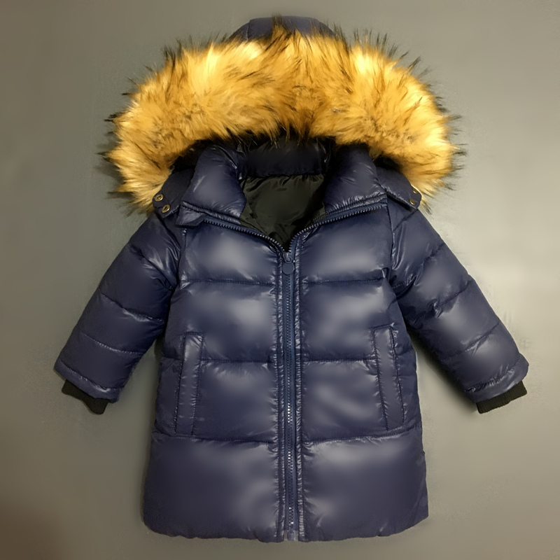 New Winter Jackets Boys Warm Coat Kids Clothes Snowsuit Outerwear & Coats Children Clothing Baby Fur Hooded Jacket Infant Parkas boys pu leather jacket boys coats autumn winter clothes 2017 children outerwear for clothing infant kids coat boy jackets
