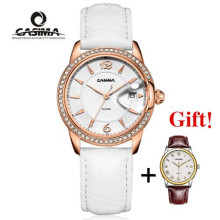 Luxury brand watches women fashion leisure ladies watch Quartz clock relogio feminino 50m waterproof CASIMA  # 2631