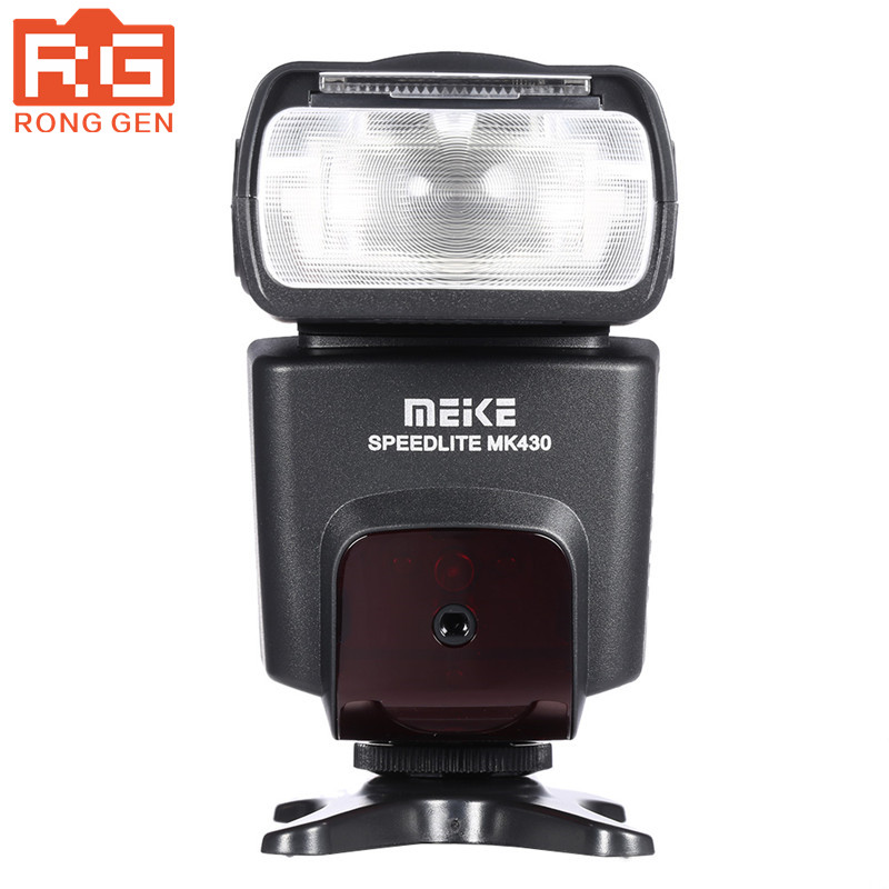 Meike MK-430 MK430 TTL Flash Speedlite for Canon Cameras 430EX II EOS 5D III 6D 60D 450D 500D 550D 600D 650D 700D voking speedlite camera flash vk750 c for canon 700d 650d 600d 550d 450d 7d 6d 5d mark ii iii t5i t4i t3i digital slr cameras