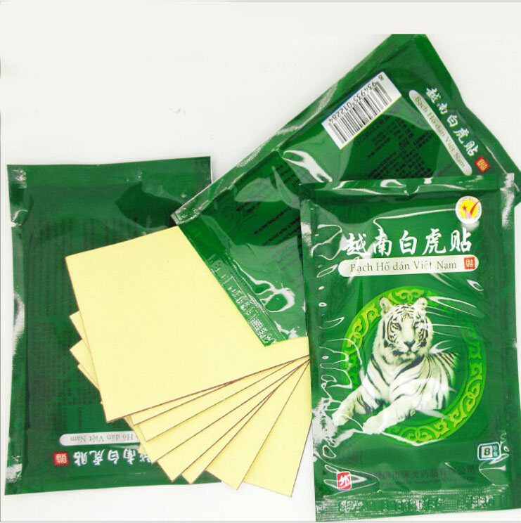 240pcs/lot Vietnam White Tiger Balm Muscle Rthritis Neck Body Massage Relaxation Capsicum Rheumatism Plaster Pain Patch MR013 2boxes 12pcs waist pain magnetic plaster from back pain orthopetic pain relief plaster intercostal neuralgia sciatica plaster