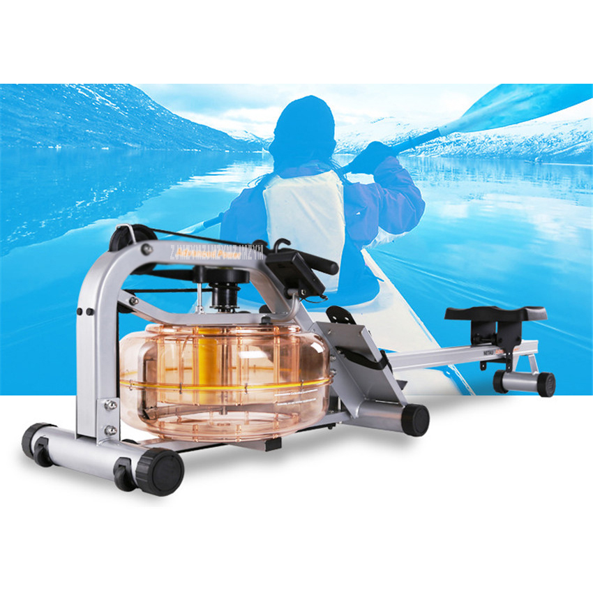 MR016 Water Resistance Row Machine Abdominal Pectoral Arm Fitness Training Stamina Body Glider Rowing Indoor Home GYM Equipment stamina cps 9300 indoor cycle