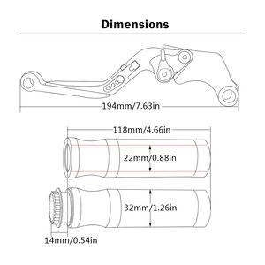 Image 5 - Leviers dembrayage de frein pour Ducati 749