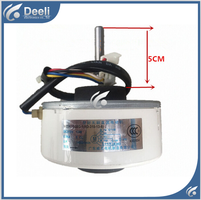 new good working for Air conditioner inner machine motor WZDK13-38G-1(RD-310-13-8) 220V Motor fan elsker 38g