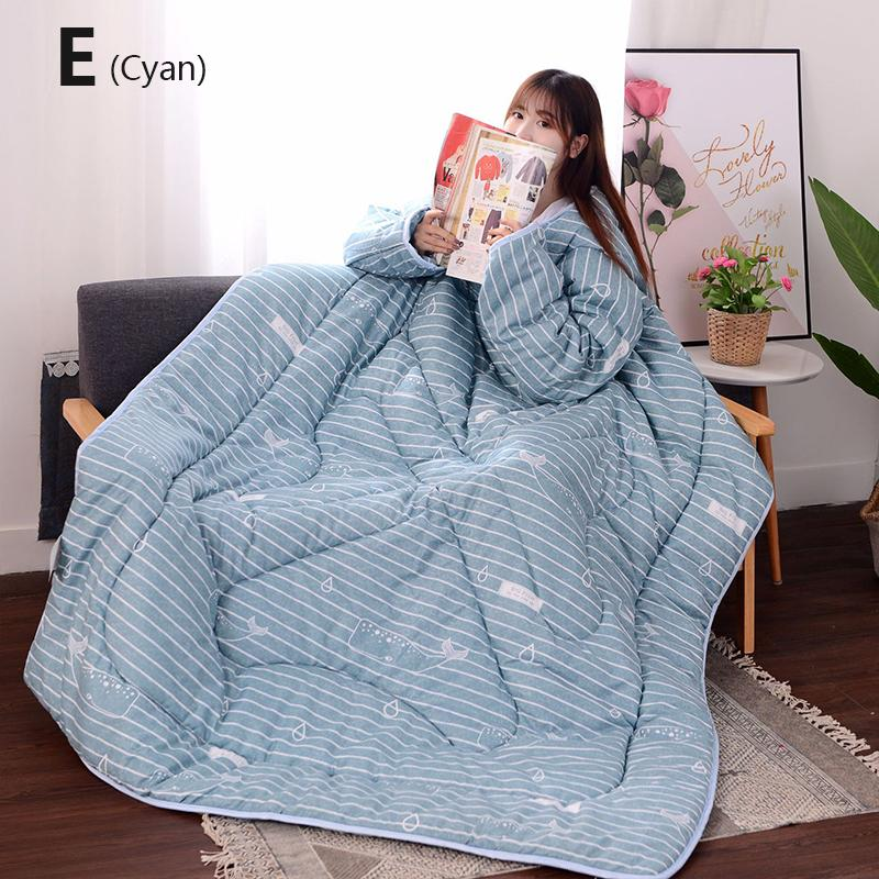 Winter Lazy Quilt With Sleeves - 30% OFF 1