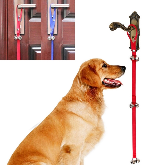Pet Dog Training Door Ringing Bell Dog Potty Training Bell Doorbell