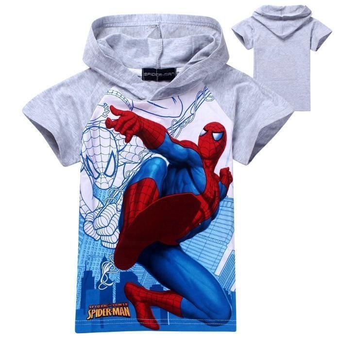 HTB14WJYPpXXXXcgXXXXq6xXFXXXH - New 2016 boys t shirt girls top t-shirts for kids baby children's spiderman summer cartoon children t shirts clothing