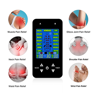 Image 5 - EMS Tens Machine Unit Electric Massager Pulse Muscle Stimulator Electrode Pads Digital Therapy Pain Relief Machine 15 Modes Tens