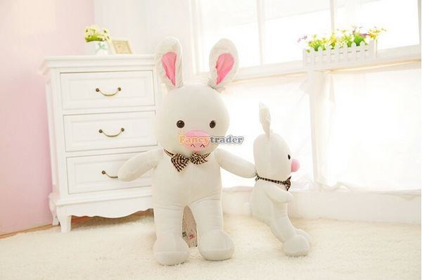 Fancytrader 59\'\' 150cm Super Lovely Plush Soft Stuffed Jumbo Pig Rabbit Toy, Valentine Birthday Christmas Gift and Decoration Toys, Free Shipping FT50089 (1)
