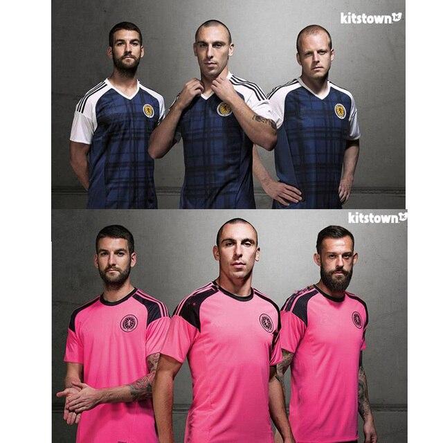 0c322b55896 Scotland national football team shirt home away soccer jersey 2016 2017  3A+++TOP THAILAND Quality Scotland Jersey