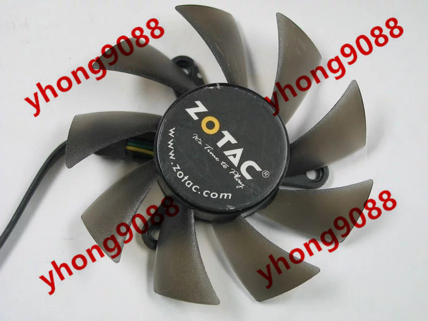 Emacro POWER LOGIC PLA08015B12HH DC 12V 0.35A Server Round fan