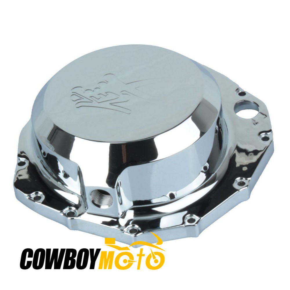Chrome Engine Stator Right Crankcase Cover For Suzuki Hayabusa GSX-R1300 GSXR 1300 99 00 01 02 03 04 05 06 07 08 09 10 11 12