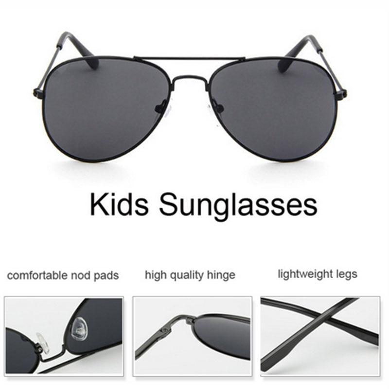 2018 новые детские солнцезащитные очки для девочек мальчиков модные ретро Пилот Детские солнцезащитные очки Винтаж синий зеркало солнцезащитные очки детские очки UV400