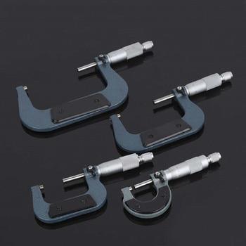 1Pc Außerhalb Mikrometer 0,01mm 0-25mm/25-50mm/50-75mm/75-100mm Metric Gauge Messschieber für Mess Werkzeuge