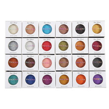 Fashion Makeup Eye Shadow Soft Glitter Shimmering Colors Eyeshadow Metallic Eye Cosmetic For All Kinds Of Skin
