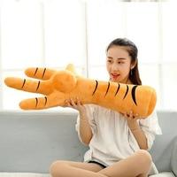 artificial Cock Leg Cloth Pillow Cushion 80/100cm New Style Chicken foot Plush Toys Stuffed Plush Kids Toys birthday Gift