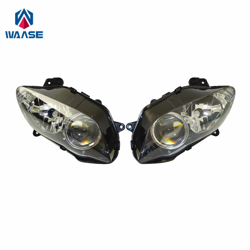 waase YZF R1 04 06 Front Headlight Headlamp Head Light Lamp Assembly For Yamaha YZF R1