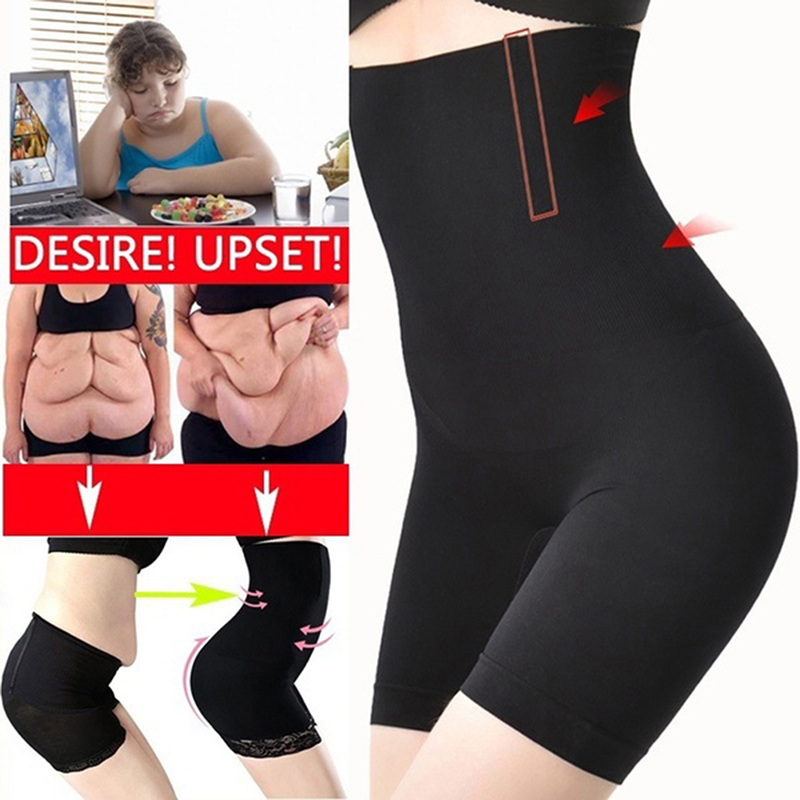 High Waist Slimming Tummy Control Knickers Pants Pantie Briefs Magic Body Shapewear Lady Corset Underwear Seamless Women Shapers