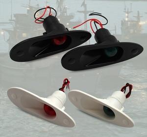 Image 3 - 1 thiết lập Màu Đỏ Màu Xanh Lá Cây Cổng Ánh Sáng Starboard Ánh Sáng 12 V Marine Thuyền Du Thuyền LED Navigation Ánh Sáng