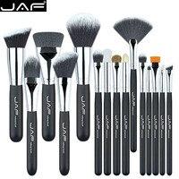 JAF Brand 15 Pcs Set Makeup Brushes 15 Pcs Make Up Brush Set High Quality Make