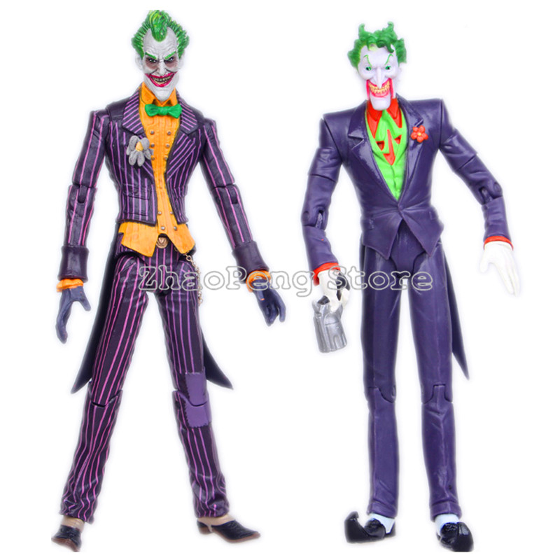 18 CM Batman The Joker PVC Action Figure Collectible Model Toy Children Gift neca superman batman the joker pvc action figure collectible model toy 7 18cm 3 styles free shipping