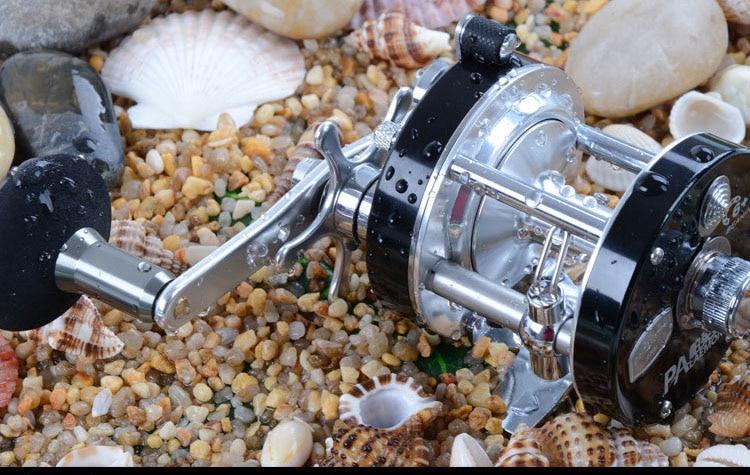Drum Saltwater Fishing Reel Baitcasting 6+1  5.2:1 Saltwater Sea Fishing Reels Bait Casting Surfcasting Drum Reel Fishing reel