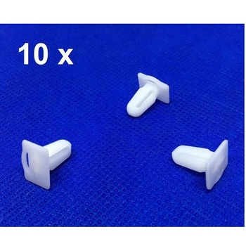 10 Pieces Door Sill Plate Side Moulding Clip for BMW E21 E30 E36 51471840960 image