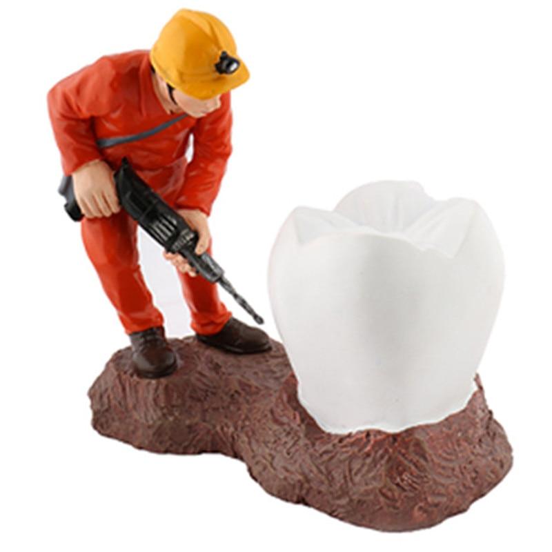 Dents artisanat dentiste cadeau résine artisanat Articles d'ameublement cadeaux créatifs clinique dentaire décoration Artware dentaire