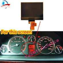 מכשיר אשכול החלפת רכב Lcd מסך צג עבור פיג ו 407 407SW קופה VDO לוח מחוונים אשכול תצוגת A2C53119649