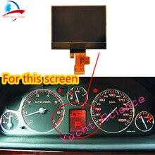 Zestaw wskaźników wymiana lcd do samochodu ekran dla Peugeot 407 407SW Coupe VDO Dashboard wyświetlacz klastra A2C53119649