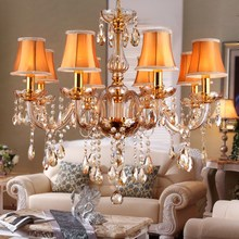 Italian design Chandelier Lamp Kitchen Dining room gold crystal chandelier Indoor House wedding chandeliers Lighting Fixtures modern crystal chandeliers for dining room gold crystal chandelier pendants crystal light fixtures ceiling chandelier lighting